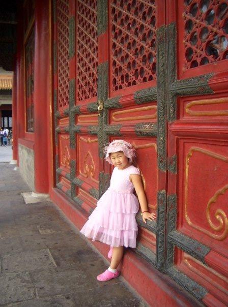 China, Bejing, Photo of Asian girl