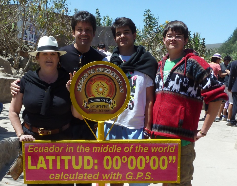 Mitad del Mundo, Ecuador, Middle of the World , Quito, Equator, Latitude 0 longitude 0