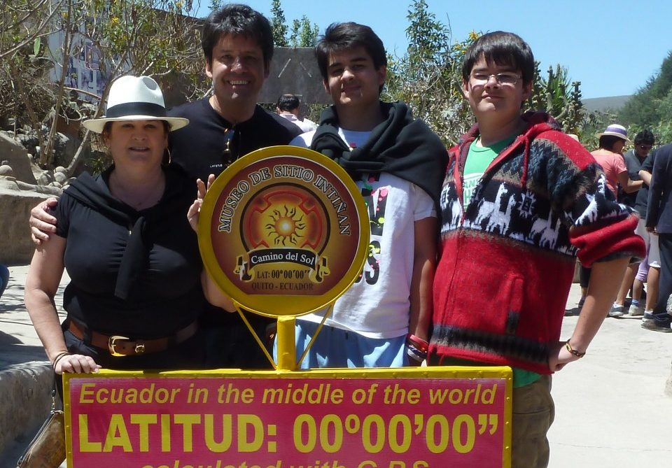 Ecuador, Middle of the World , Quito, Equator