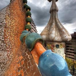 God's Architect: Gaudi, Barcelona Artist, Park Guell sign