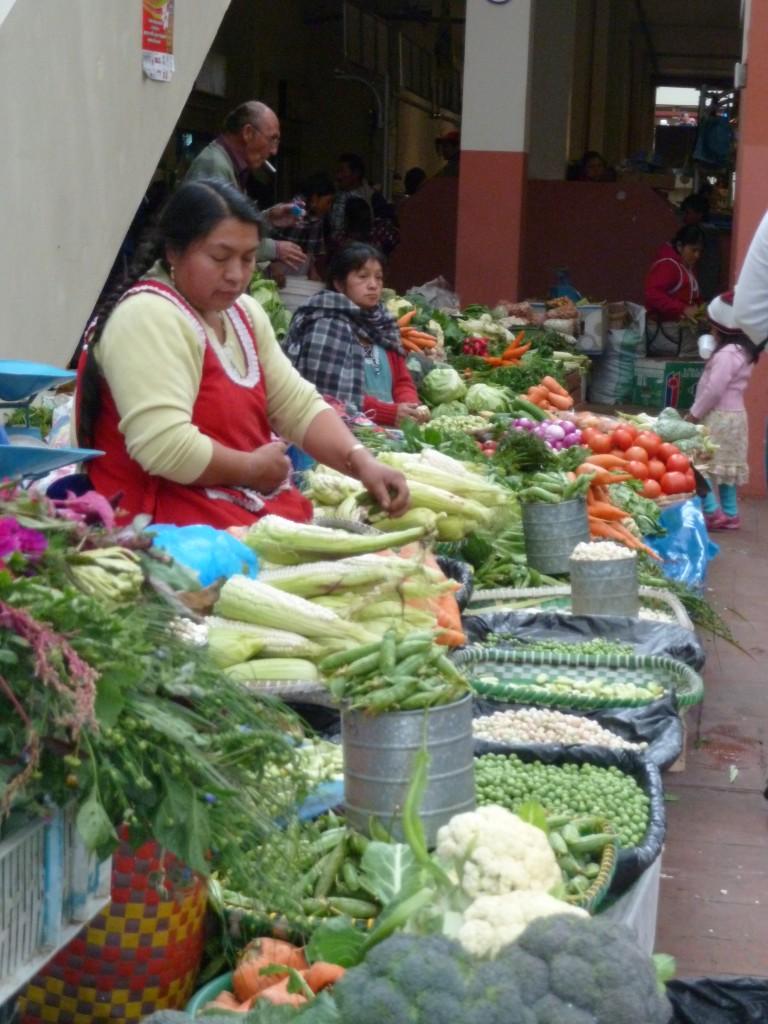 The Markets in Cuenca, Ecuador, Ferias Libres