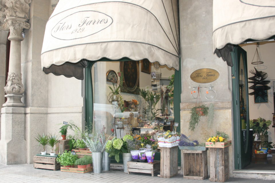 Oldest Flower Shop in Barcelona, Spain