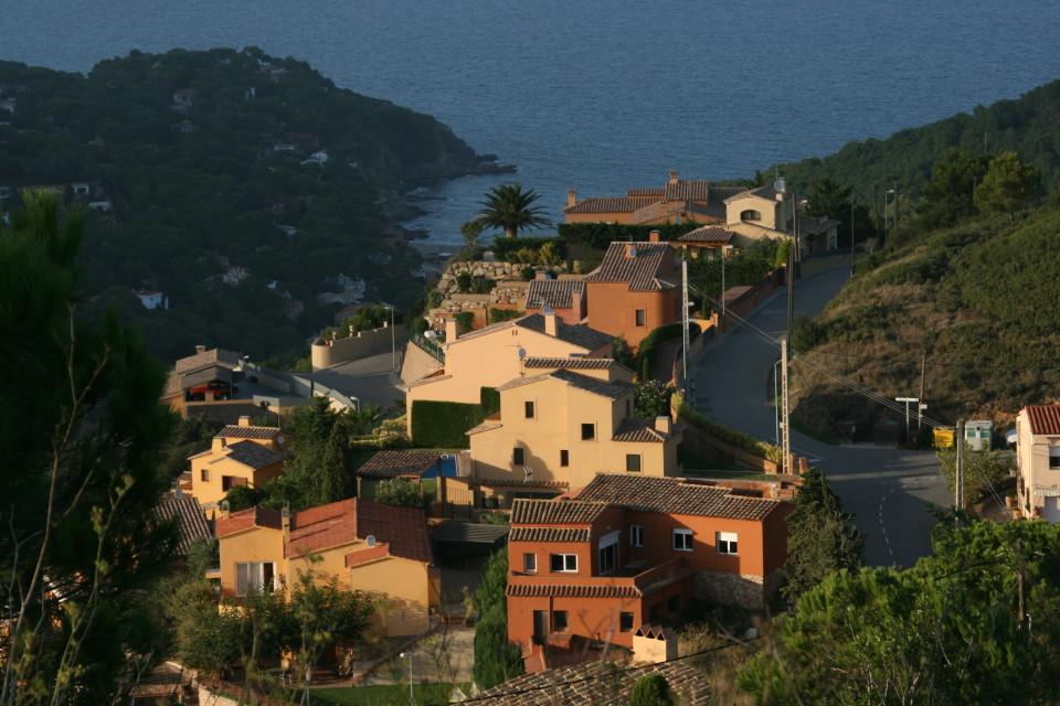 Medieval villages along the Costa Brava of Spain: Begur
