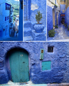 Blue Eyes Crying in the Rain - Blue City, Morocco