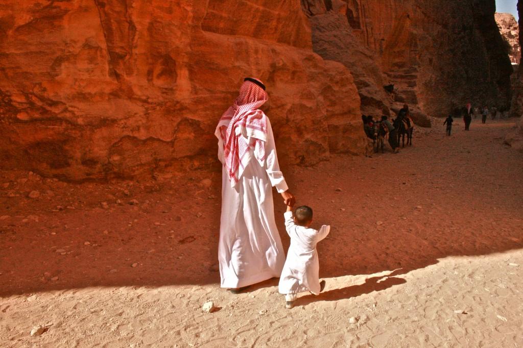 Bedouins (بَدَوِيُّون) of Petra, Jordan
