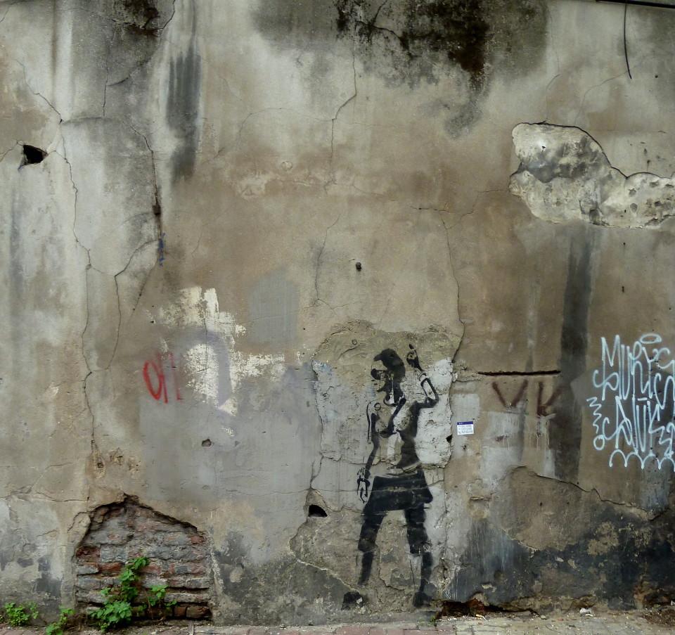 Grafitti in Istanbul, Turkey