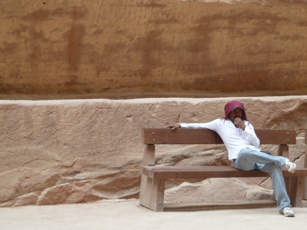 Bedouins بَدَوِيُّون of petra jordan