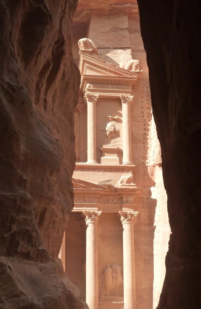 Petra, Jordan in the sun