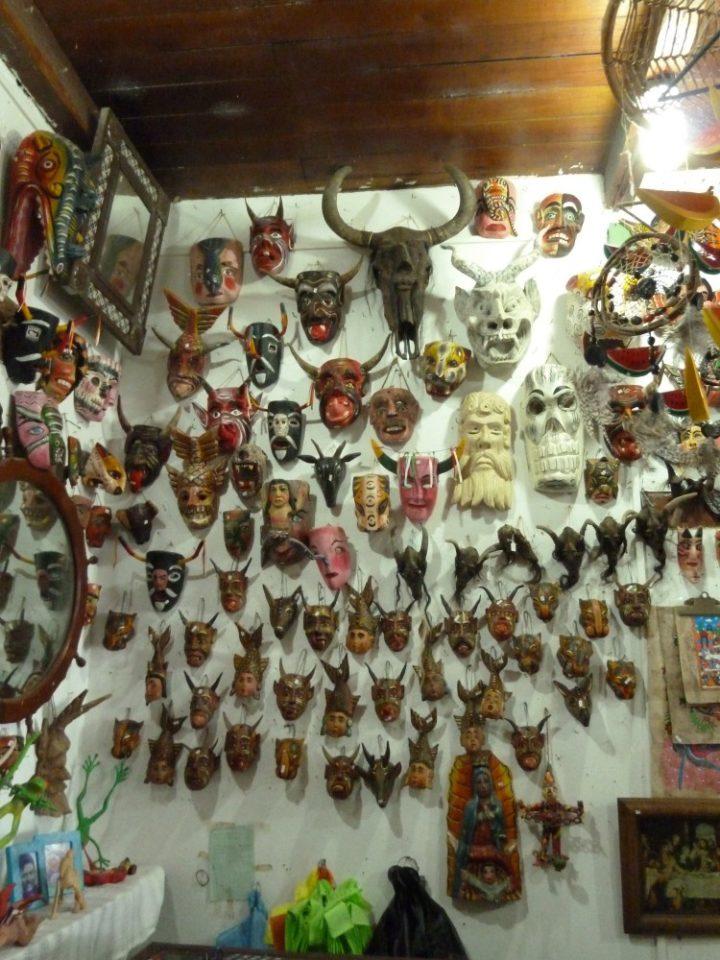 Masks, Zihuatanejo, Mexico