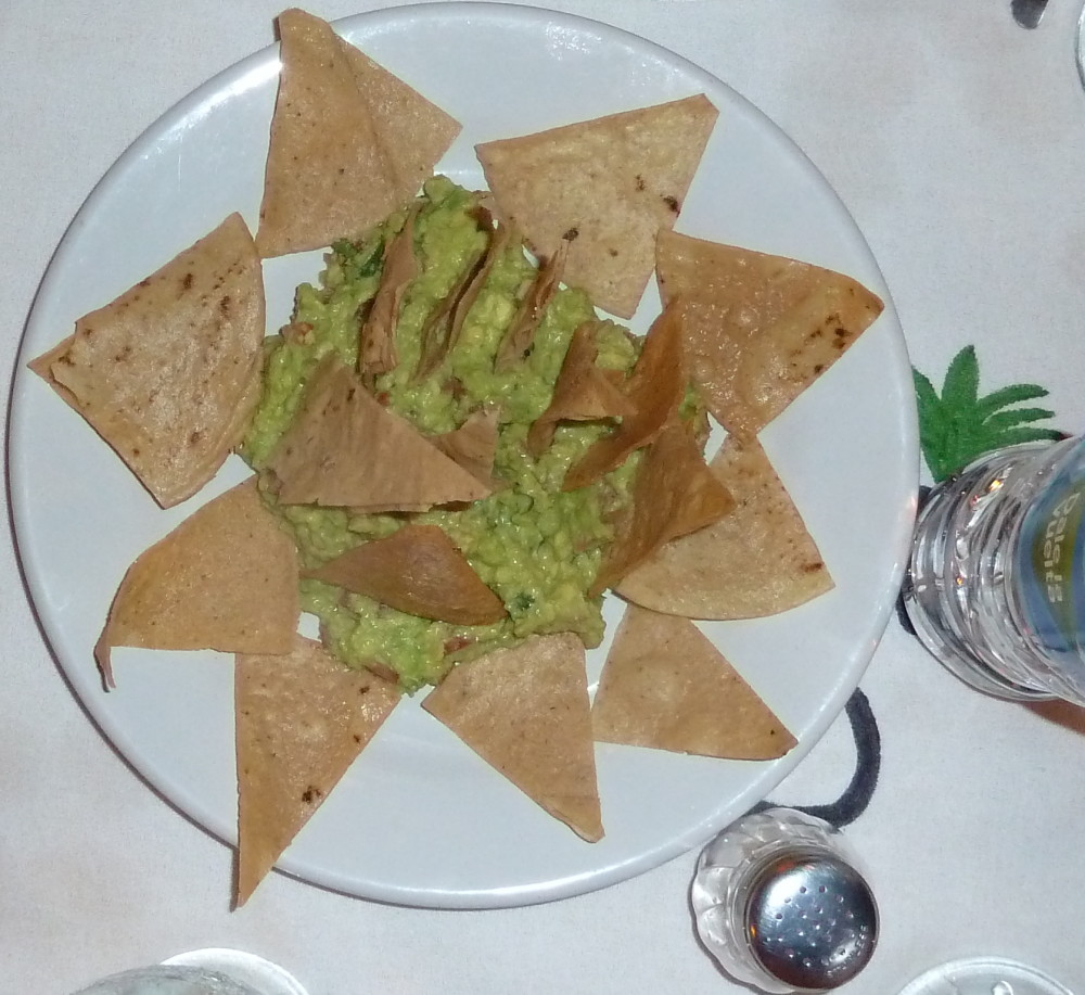 Chips Guacamole Zihuatanejo, Mexico 2013
