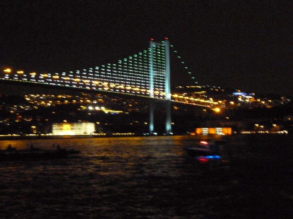 Bridge on the Bosporus River