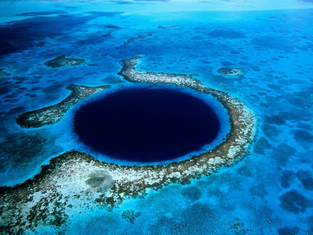 Blog blue hole 1024x768 Belize: Life in the Underworld