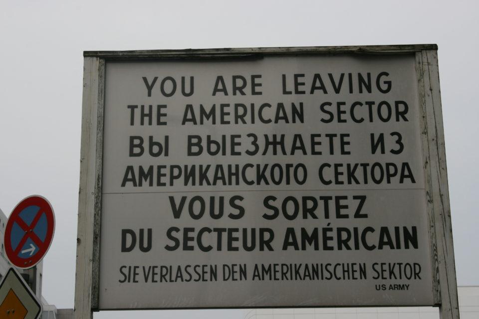 Checkpointe Charlie, Berlin, Germany