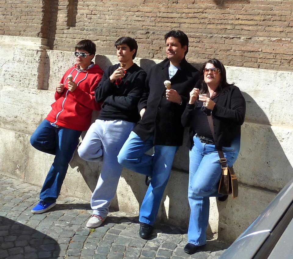 Gelato in Rome