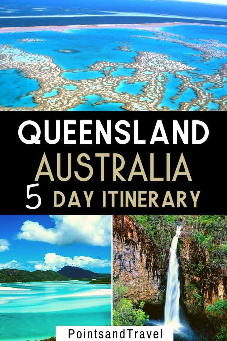 Queensland Australia 5 day itinerary, How to spend 4 days in Queensland Australia #Australia #Queensland