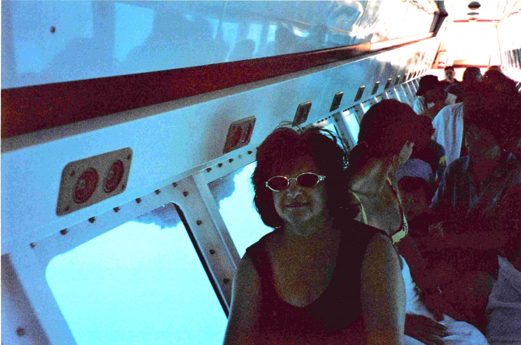My mom in the submarine, Australia