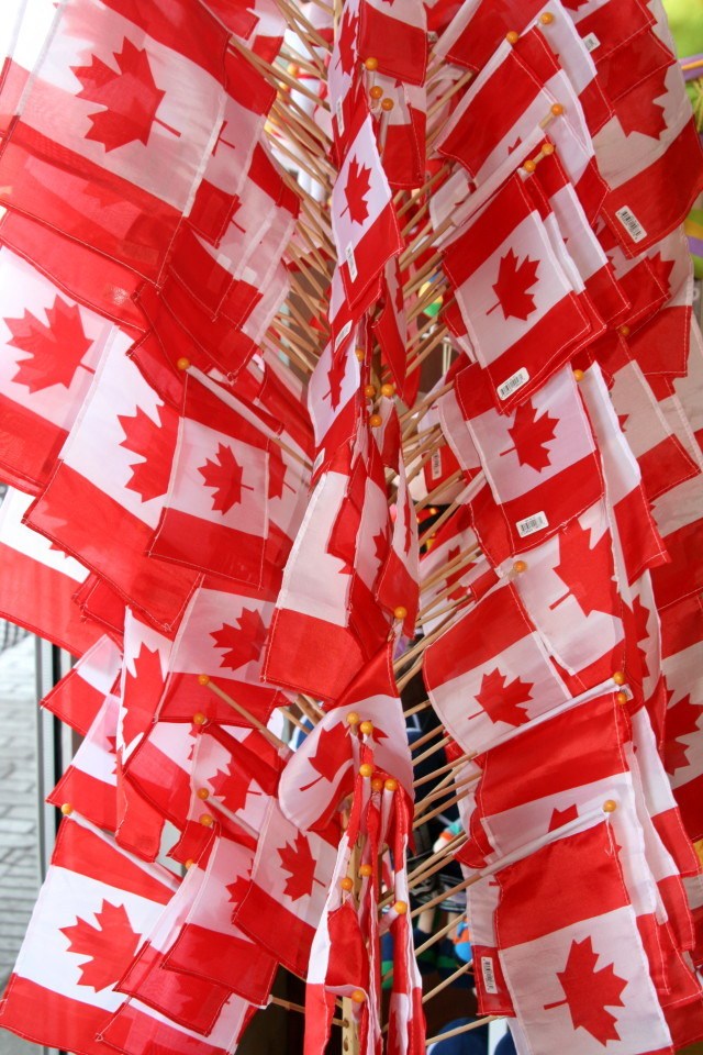 CANADA Flags! Niagara Falls Facts