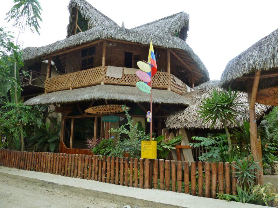 Balsa Surf Camp, Montañita, Ecuador