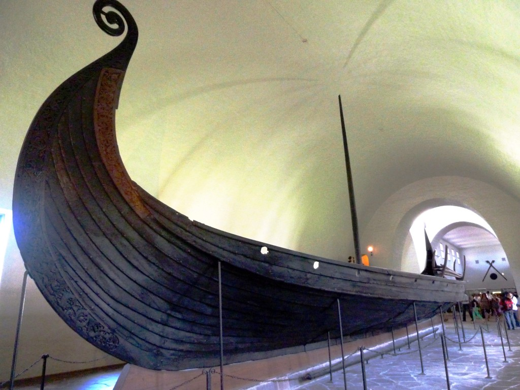 Oseberg Ship, Oslo, Norway