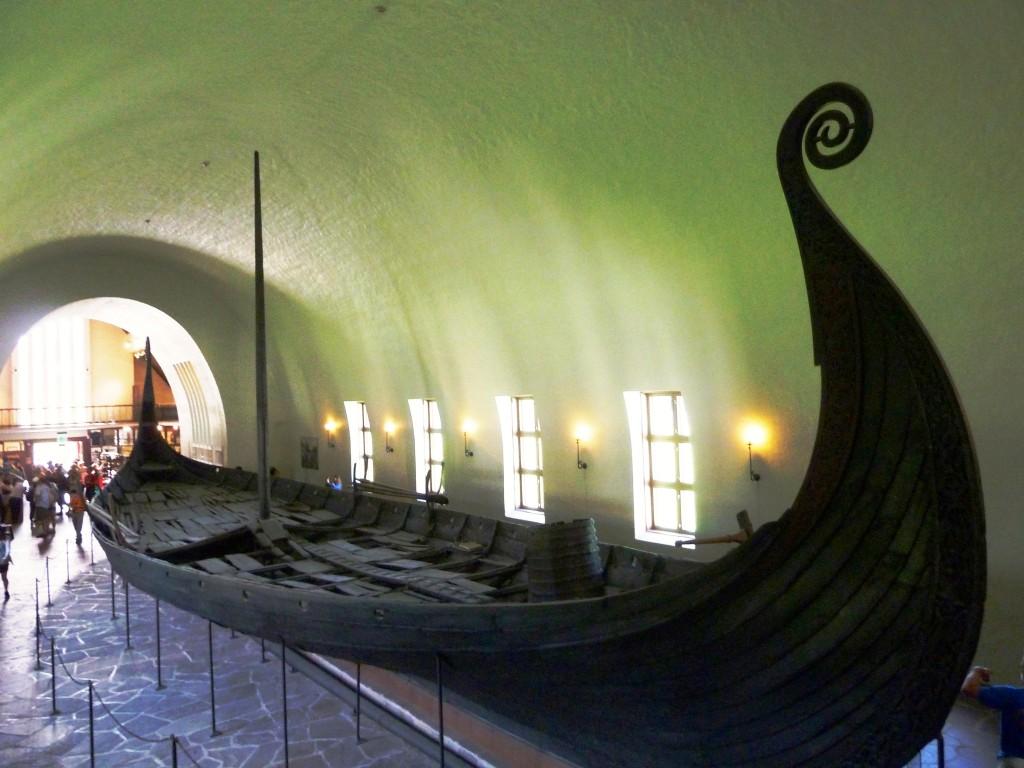 Oseberg Ship, Oslo, Norway