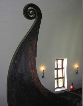 A Viking Queen:  Viking Ship Museum, Oslo