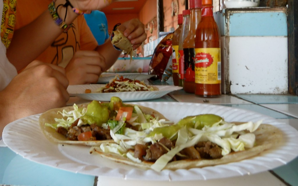 Taco's near Arizona's Beach: Rocky Point, Mexico