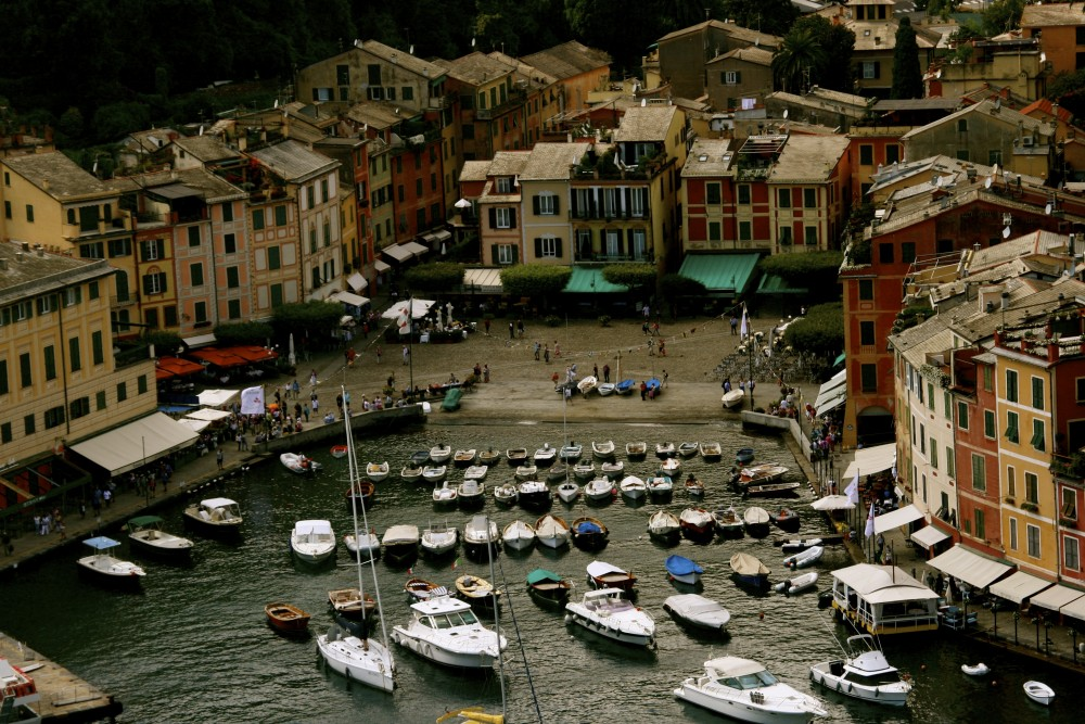 Visiting Portofino on the Italian Riviera!