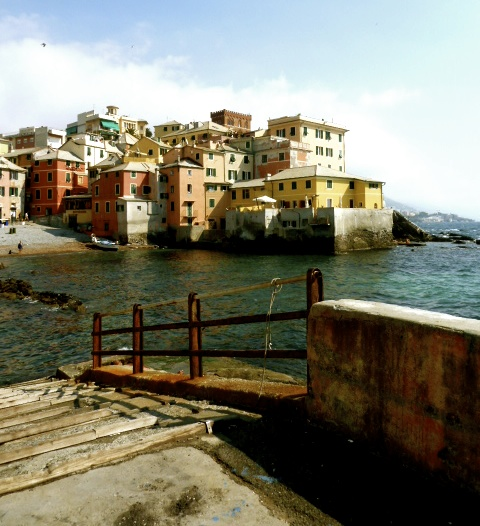 Bocadasse, Italy - The Poetry of an Old Fisherman's Village