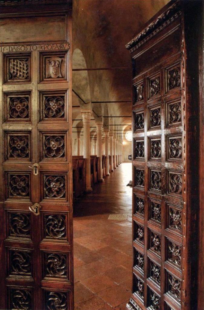 La Biblioteca Malatestina, Cesena,Italy