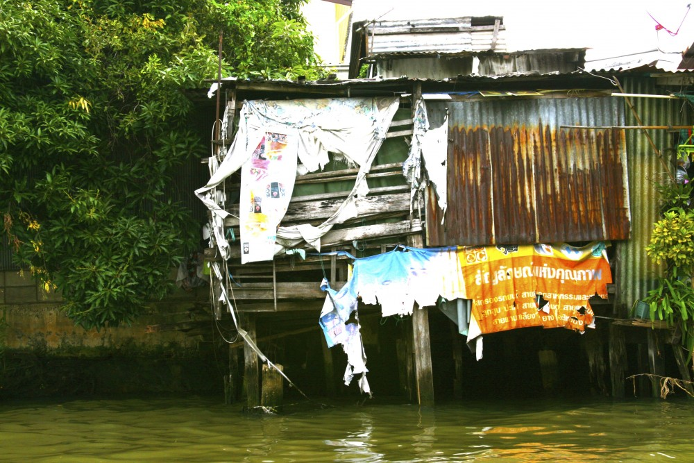 Along the banks of the Chao Phraya River, Bangkok,