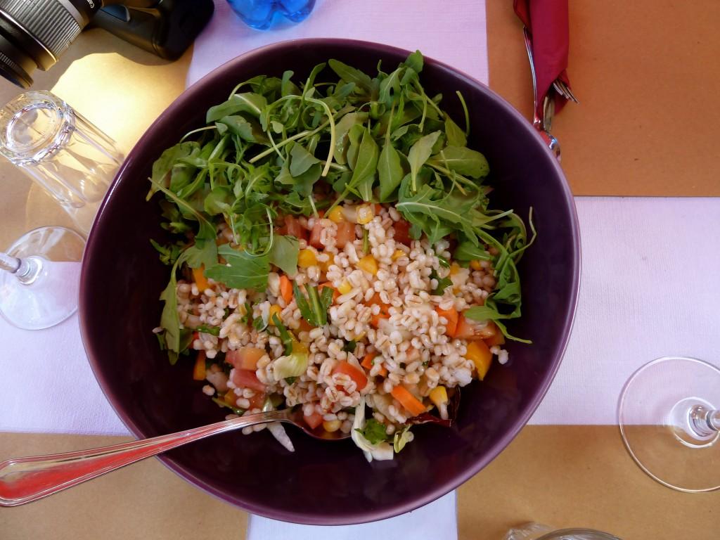 Lunch at La Rocca Malatestiana, Cesena, Italy