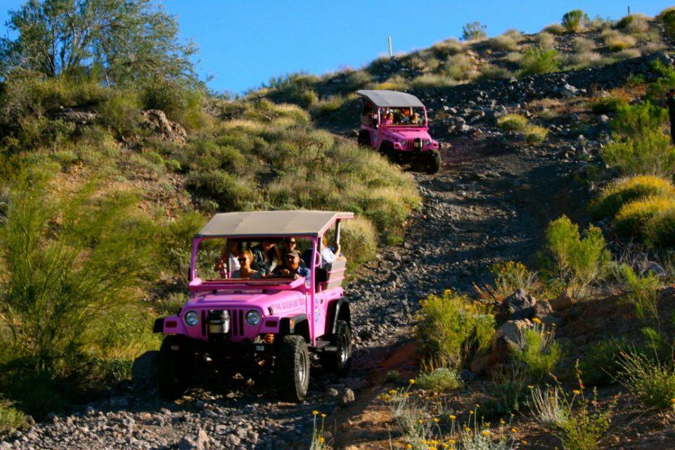 Pink Jeep Tours, Phoenix, AZ