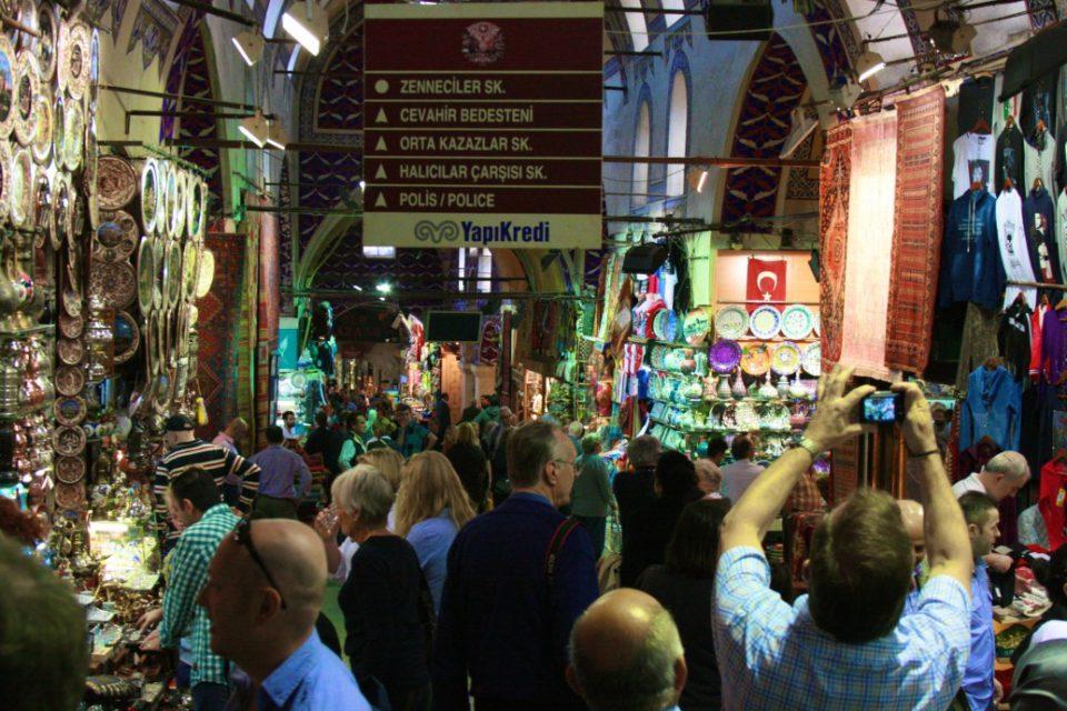 The Bazaar, Istanbul, Turkey