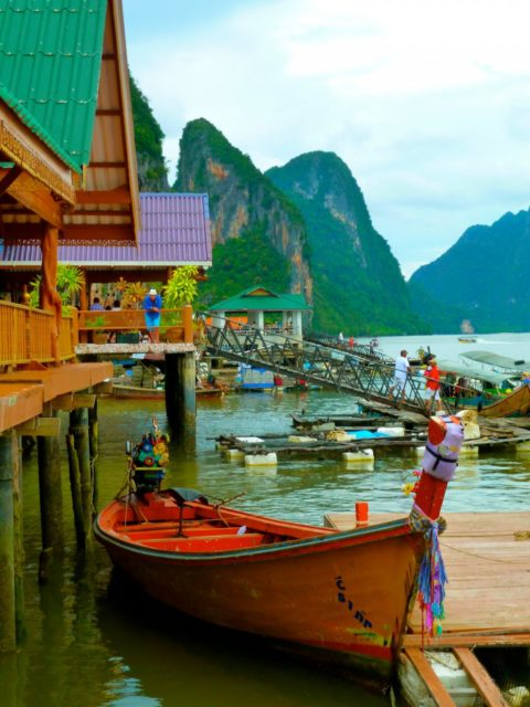 Sea Gypsy Village or Panyee Island, Thailand