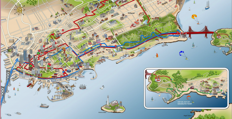 Plenty of offbeat attractions to explore in San Francisco – Tourist Attractions Map In San Francisco