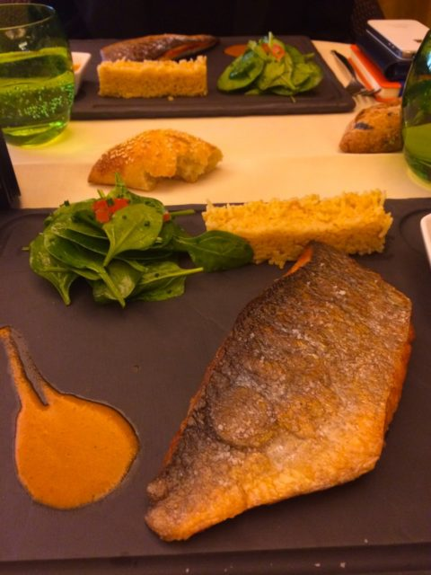 Grilled Fish at Bivouac Cafe and Restaurant