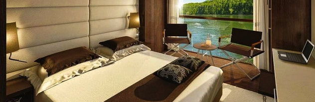 Emerald panorama balcony suite, courtesy of Emerald Waterways