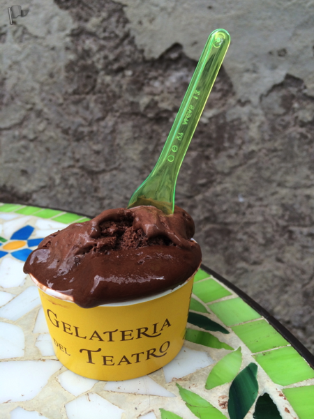 Gelato from Gelateria del Teatro, Rome, Italy is one of the Hidden Gems in Rome, rome off the beaten path