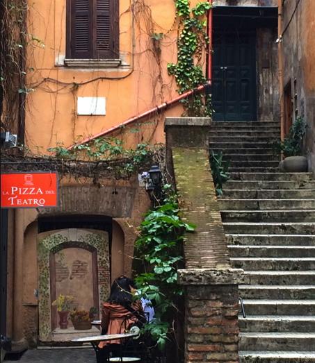 Pizza del Teatro, Rome, Italy