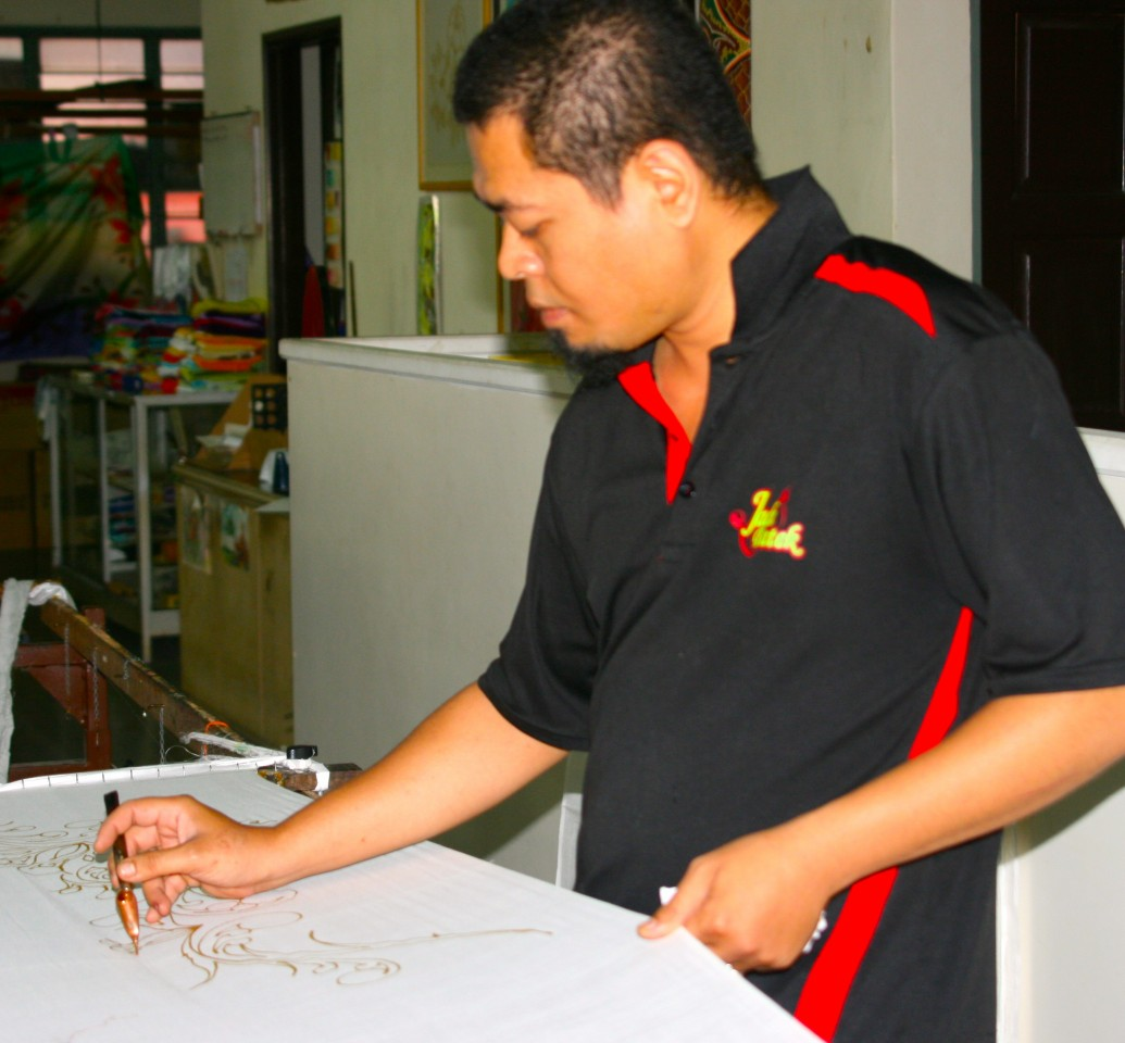 Batek Painting, Kuala Lumpur, Malaysia