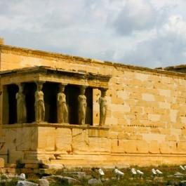 Erechtheion, at the Acropolis, Athens, Greece