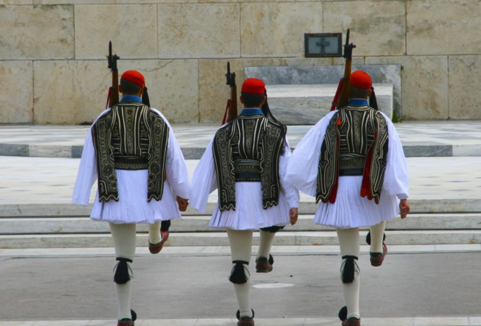 The changing of the Guard, Parliament, Athens, Greece