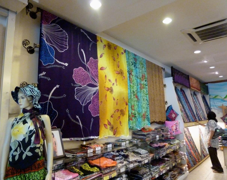 Batek painting material, Kuala Lumpur, Malaysia