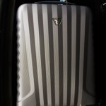 Roncato Uno luggage, affectionately known as the 'Silver Bullet'