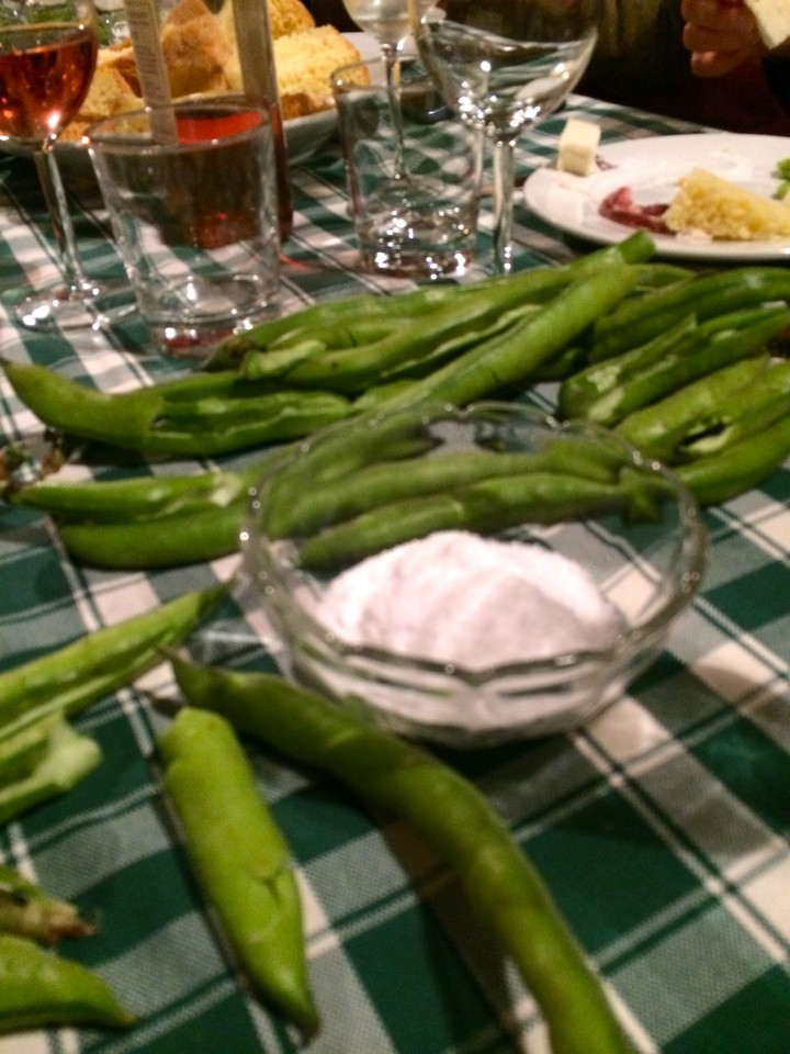 Fave e Formaggio Fresco – Fava beans, salted