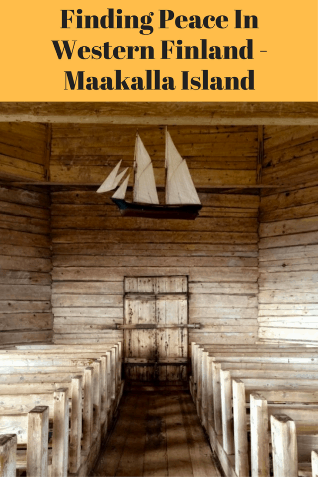 Parsonage in Maakalla Island, Finland