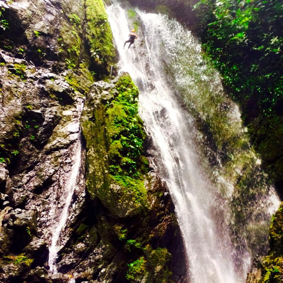 Cape Matapalo, Costa Rica, King Louie Waterfall