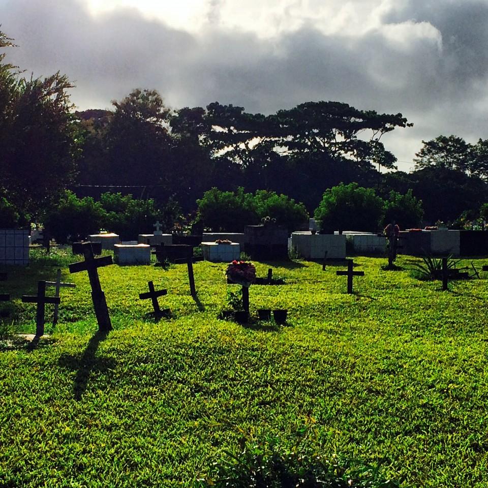 Puerto Jimenez cemetery, Costa Rica