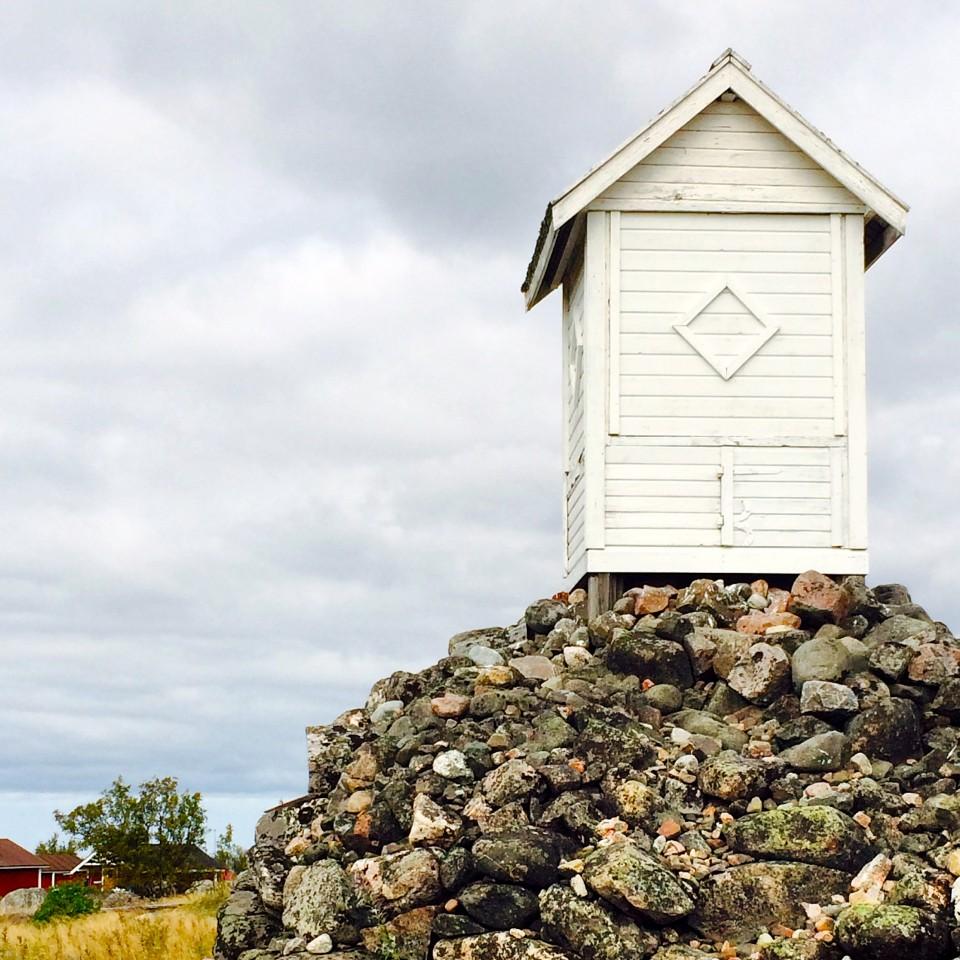 Lighthouse on Maakalla Island, Finland
