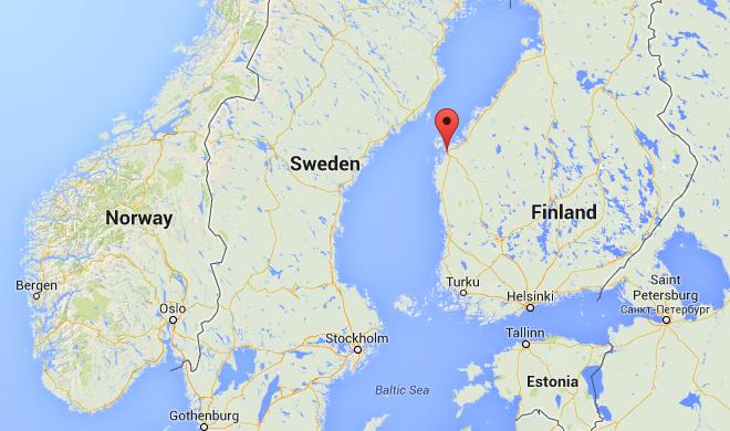 Vaasa, Finland map